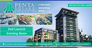 Dha Lahore PentaSquare Phase 5 Apartments Development New Launch with new prices Rates   booking through booking forms available on dha lahore website   for more Details contact Faraz 0321-4000646
