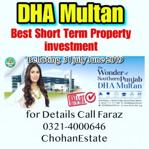 Dha Lahore Dha Multan Belloting Posession Plots Rates News Updates call Faraz 0321-4000646 ChohanEstate Dha Lahore Office