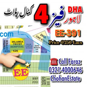 Residential Plots For Sale In DHA Lahore