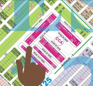 Dha Lahore Offers 48Marla Commercial Ballot plot on 3 years instalment Phase 6 CCA plot numbet 149